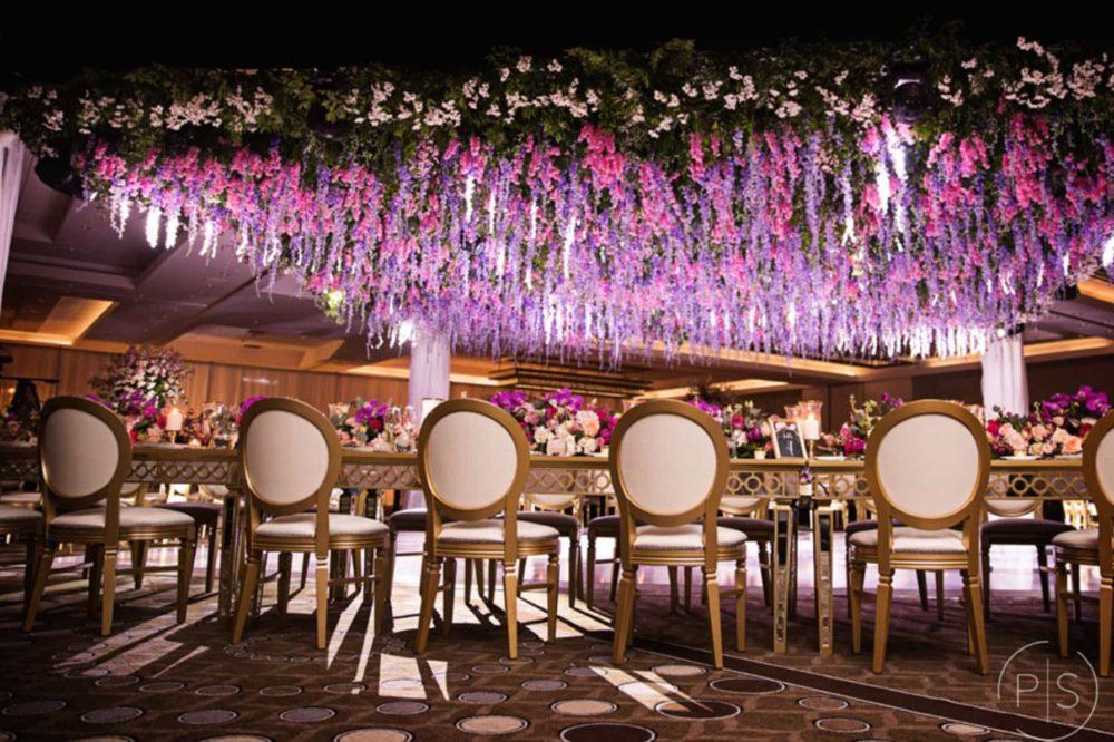 Fontainebleau Miami luxury wedding lighting Indian wedding reception Sangeet