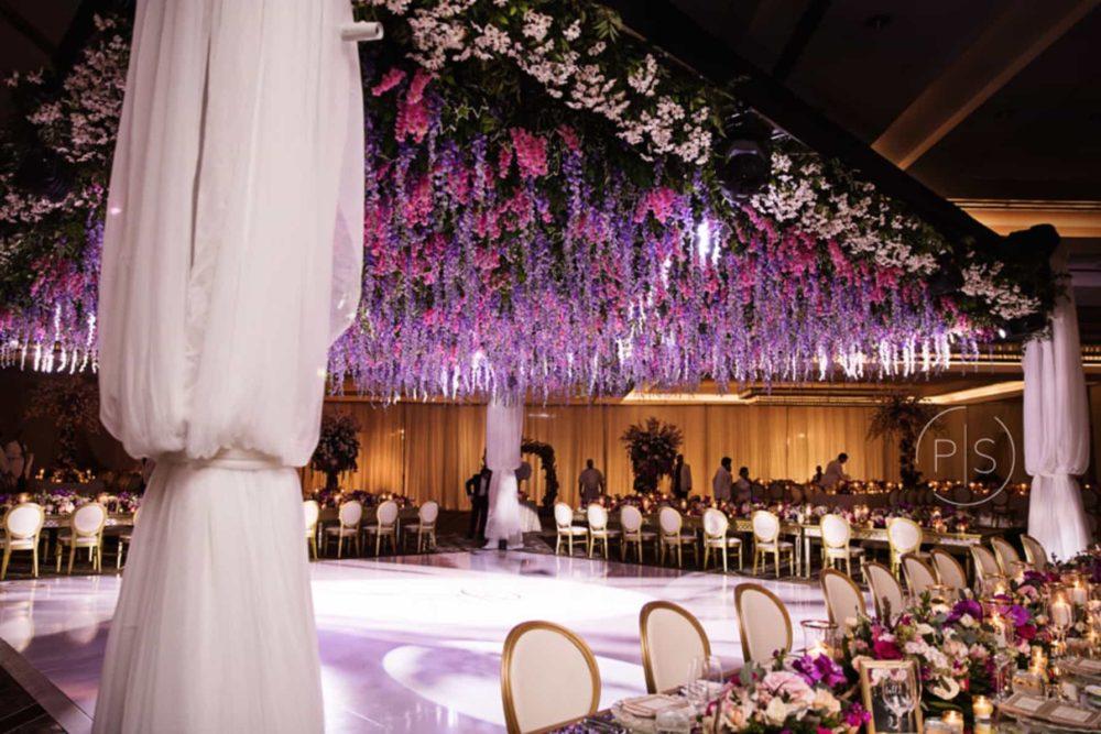 Fontainebleau Miami luxury wedding lighting Indian weddings