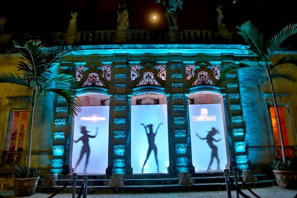 Brand activation campaign lighting sound production Miami
