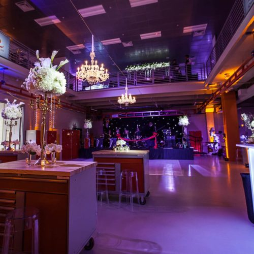 Corporate event lighting and event production Miami