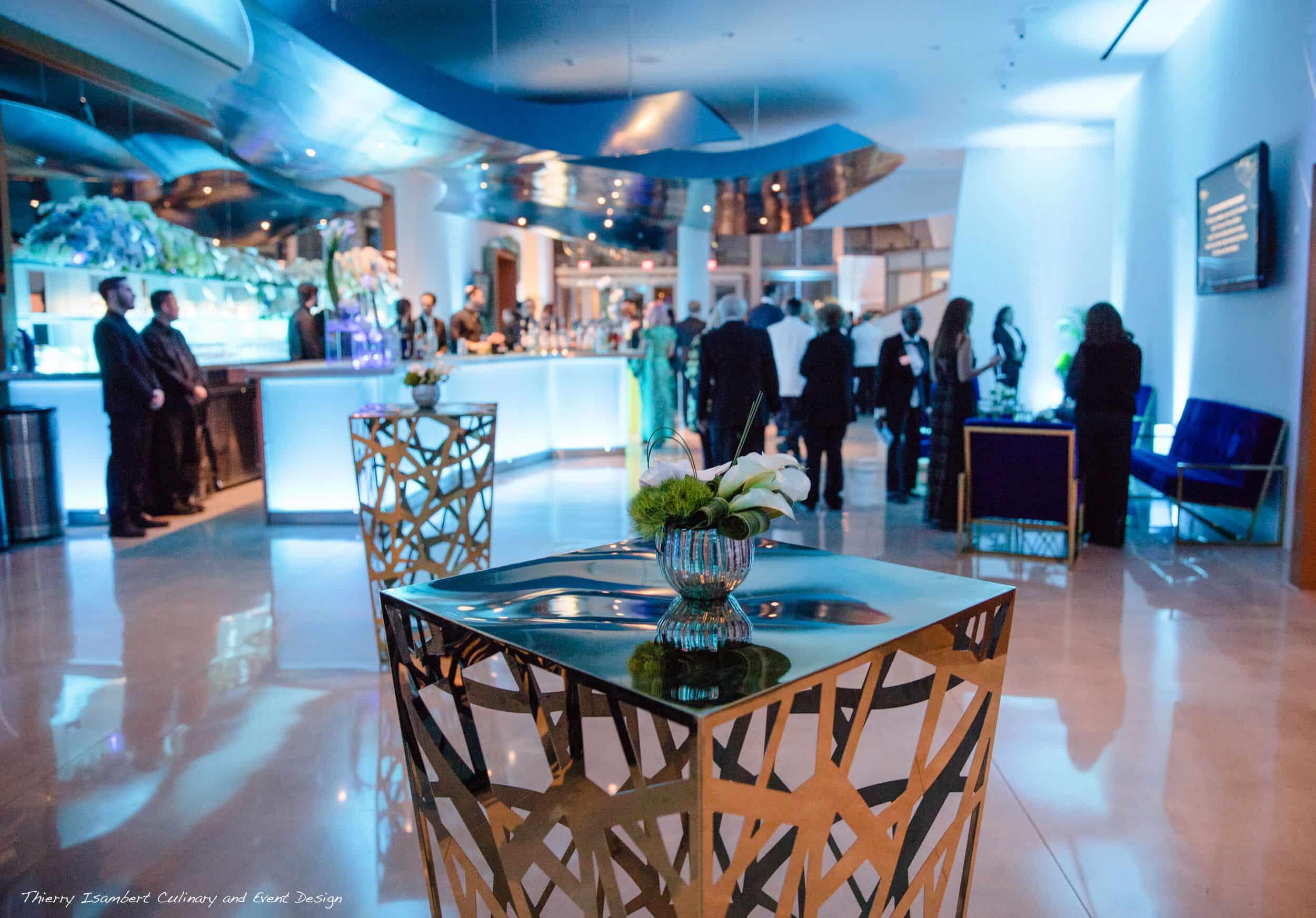 Gala fundraiser corporate event production audio lighting visual