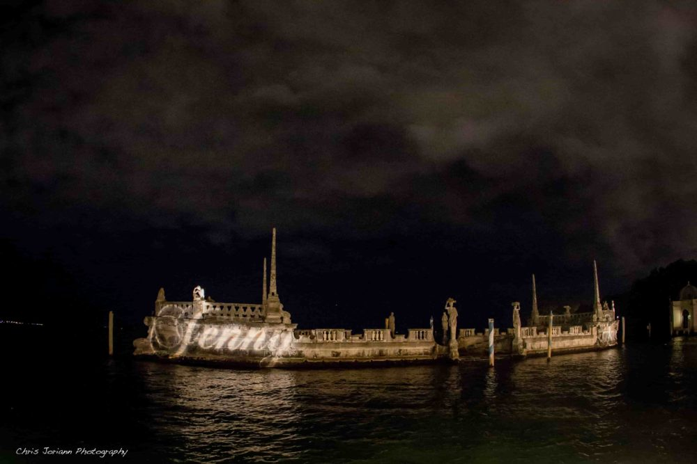 Vizcaya barge lighting