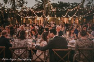 Fairchild Tropical Botanic Garden wedding rent string lights