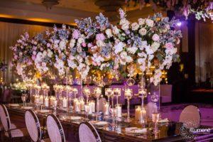 Mandarin Oriental wedding lighting and full event production