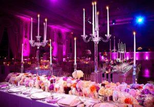 Maralago wedding lighting