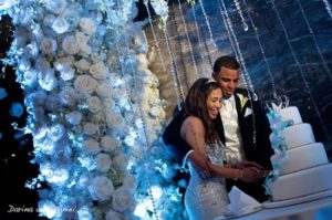Ritz Carlton Fort Lauderdale wedding lighting