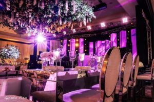 Wedding at Mandarin Oriental lighting and sound
