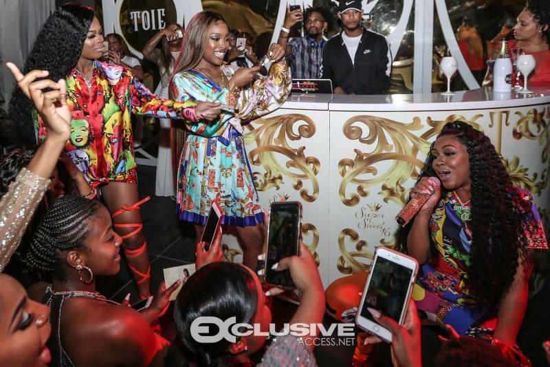 Celebrity influencer event Miami
