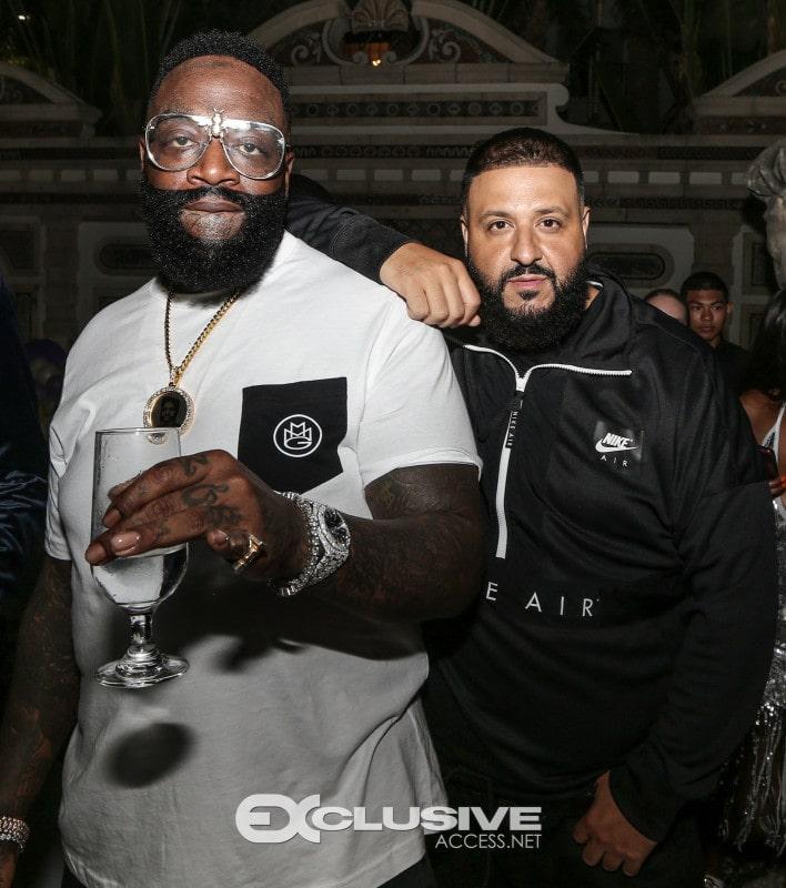 DJ Khaled Rick Ross TOie event Illumene