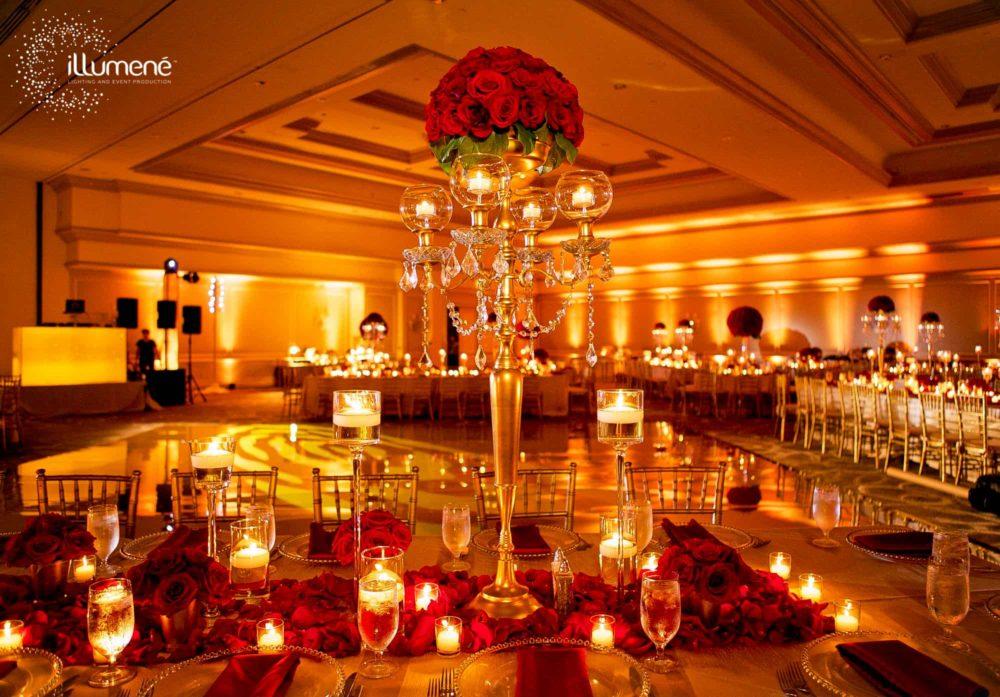 Event lighting uplighting rent Miami
