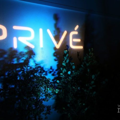 Logo projection Miami Prive