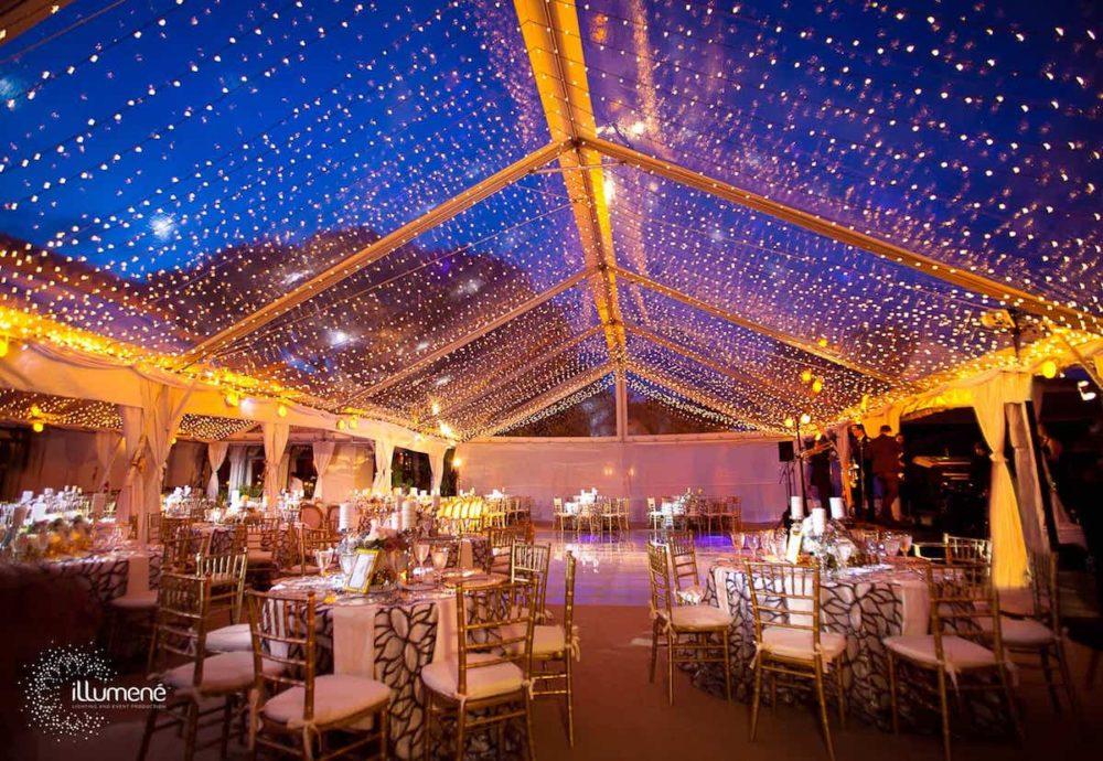 Mini lights rent twinkle lights tent Miami