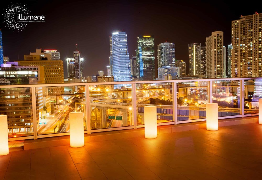 Penthouse Riverside Wharf large candles Miami