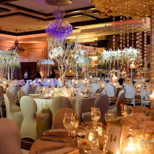 Pinspots for wedding corporate parties fundraisers galas Miami