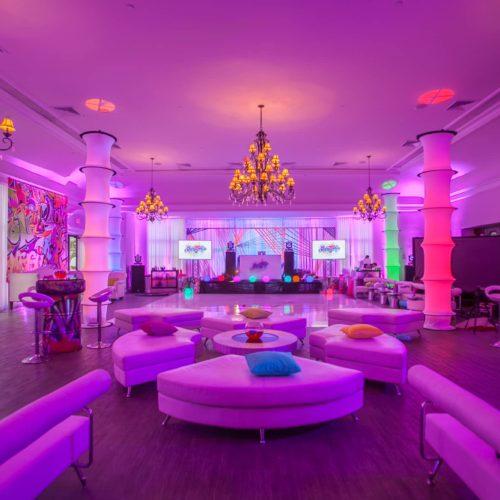 Rent uplighting Miami Palm Beach Fort Lauderdale