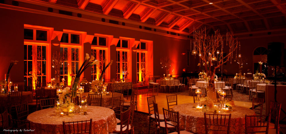 Rent uplighting in Miami Palm Beach Fort Lauderdale