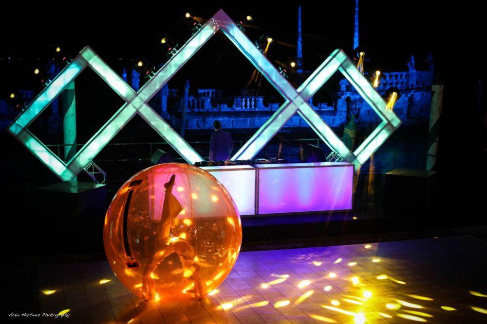 Stage Miami trusses sound lighting audio visual