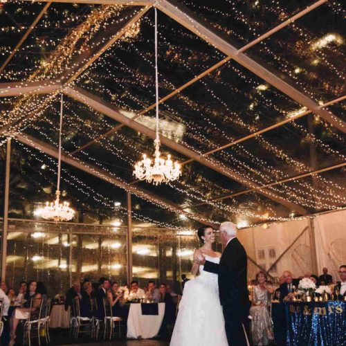 Twinkle lights chandelier tent lighting rent Miami