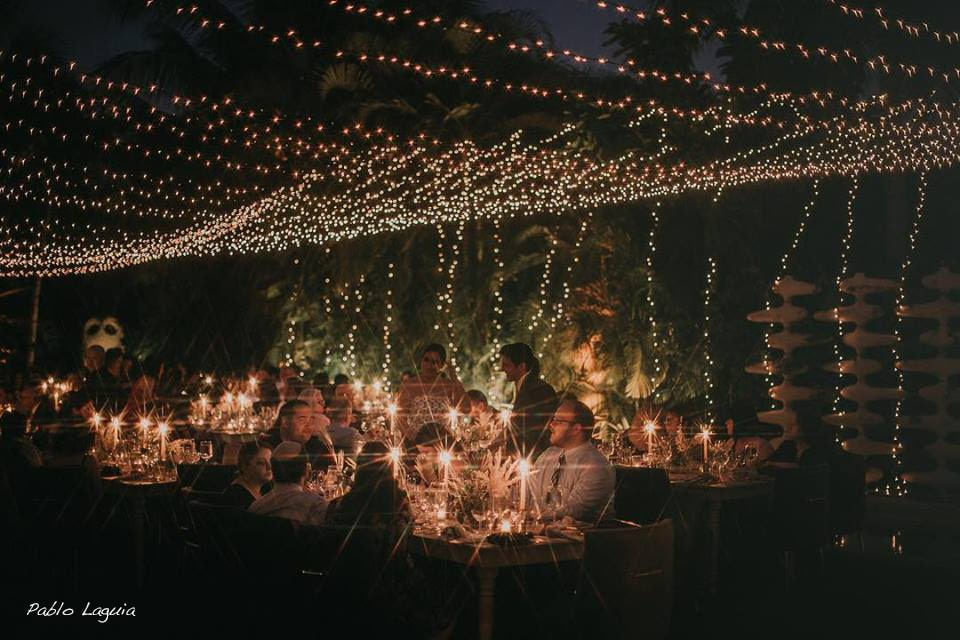 Twinkle lights rent Miami string lights