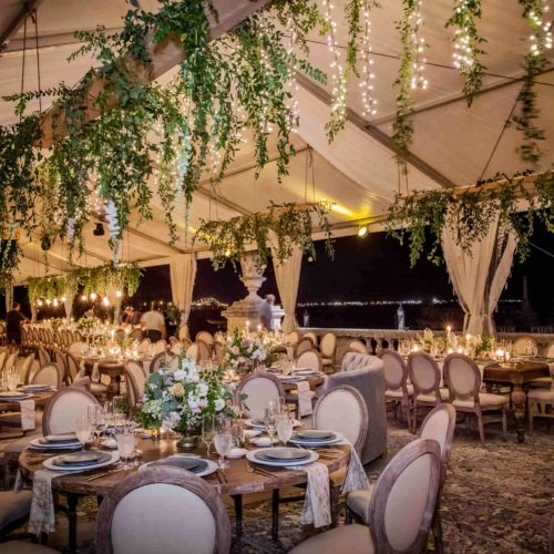 Vizcaya rent twinkle lights tent lighting
