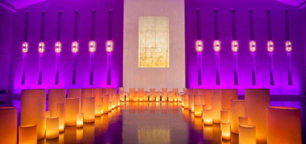 luminaries large candles rent Miami