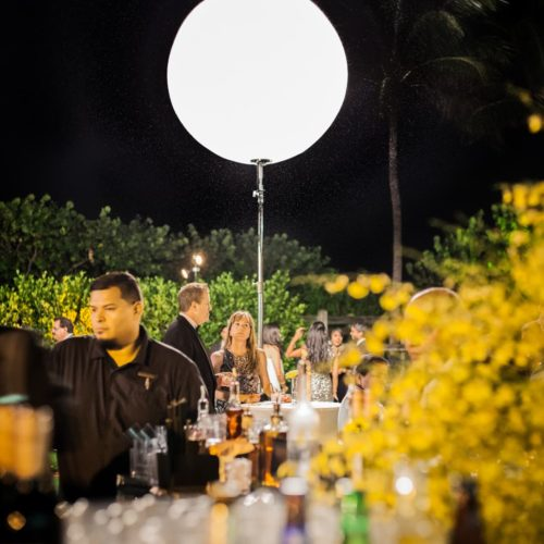 Airstar rent Miami moon balloon Fontainebleau Indian wedding, Sangeet lighting Miami