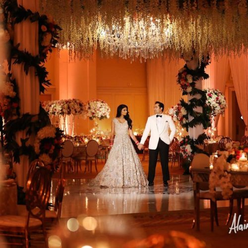 rent large chandelier for wedding in Miami