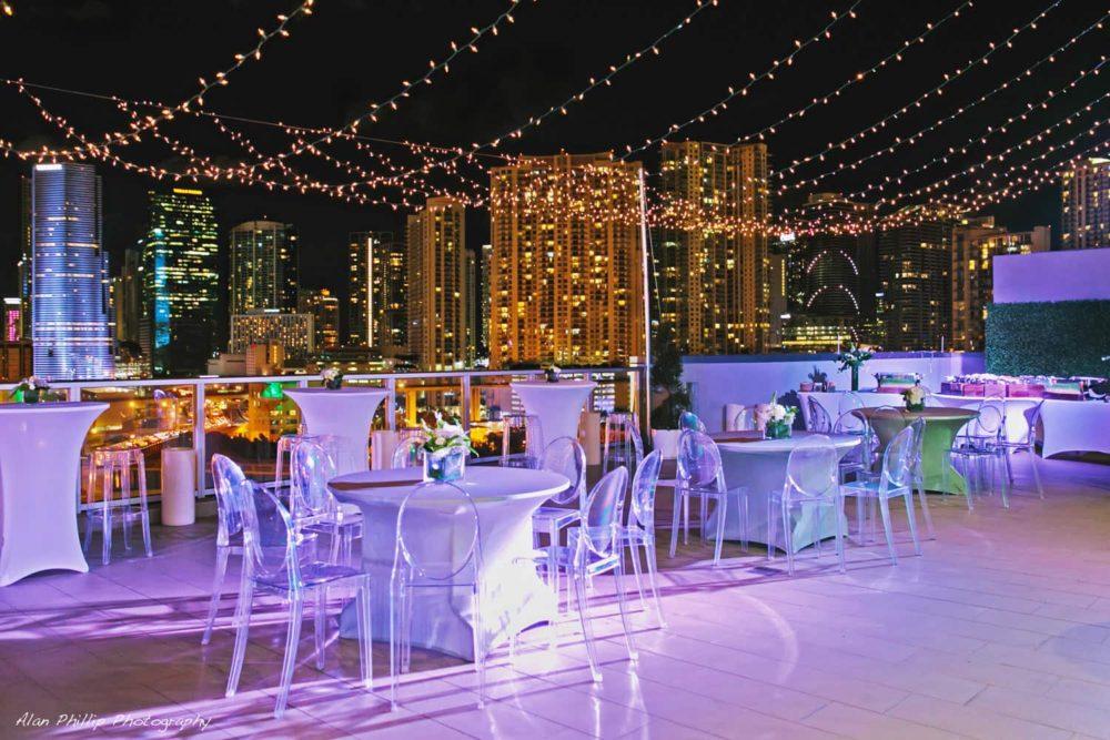 string lights mini lights rent Miami Palm Beach Fort Lauderdale