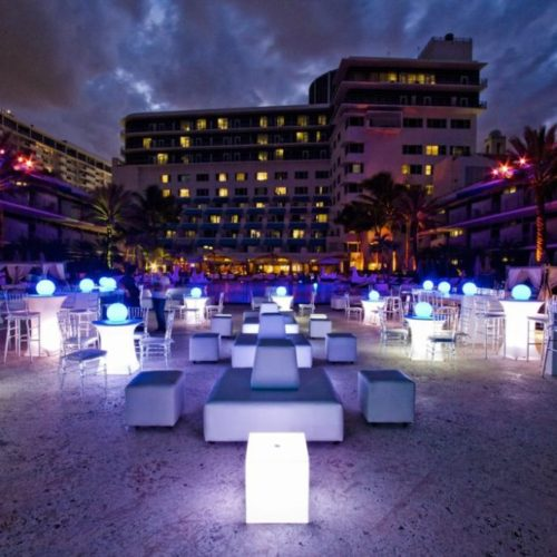 LED Floating ball LED floating Sphere LED Light Balls outdoor decor Miami