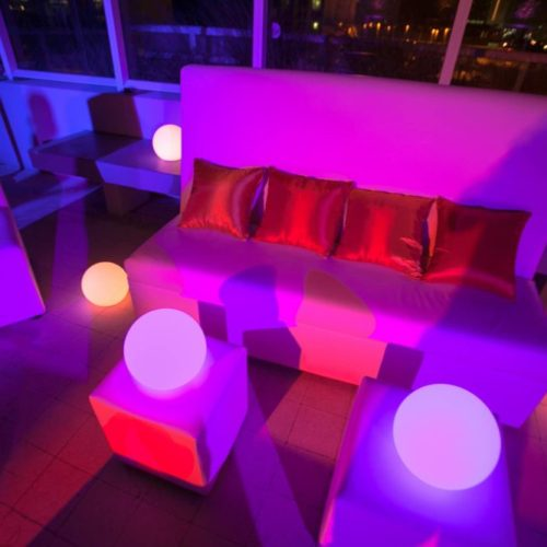 LED Floating balls LED floating Spheres LED Light Balls outdoor decor Fort Lauderdale Palm Beach