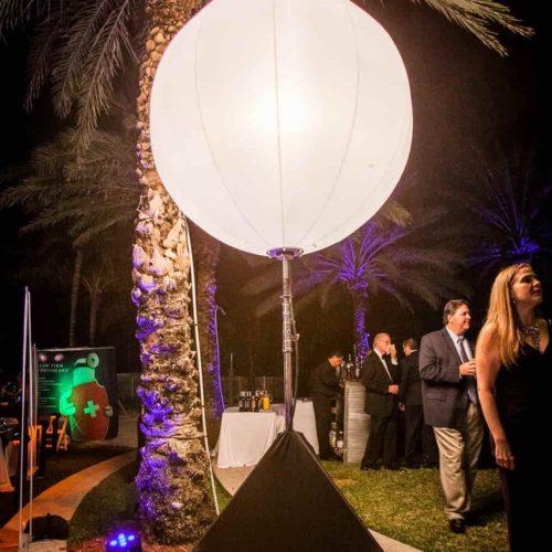 Rent airstar Miami moon balloon