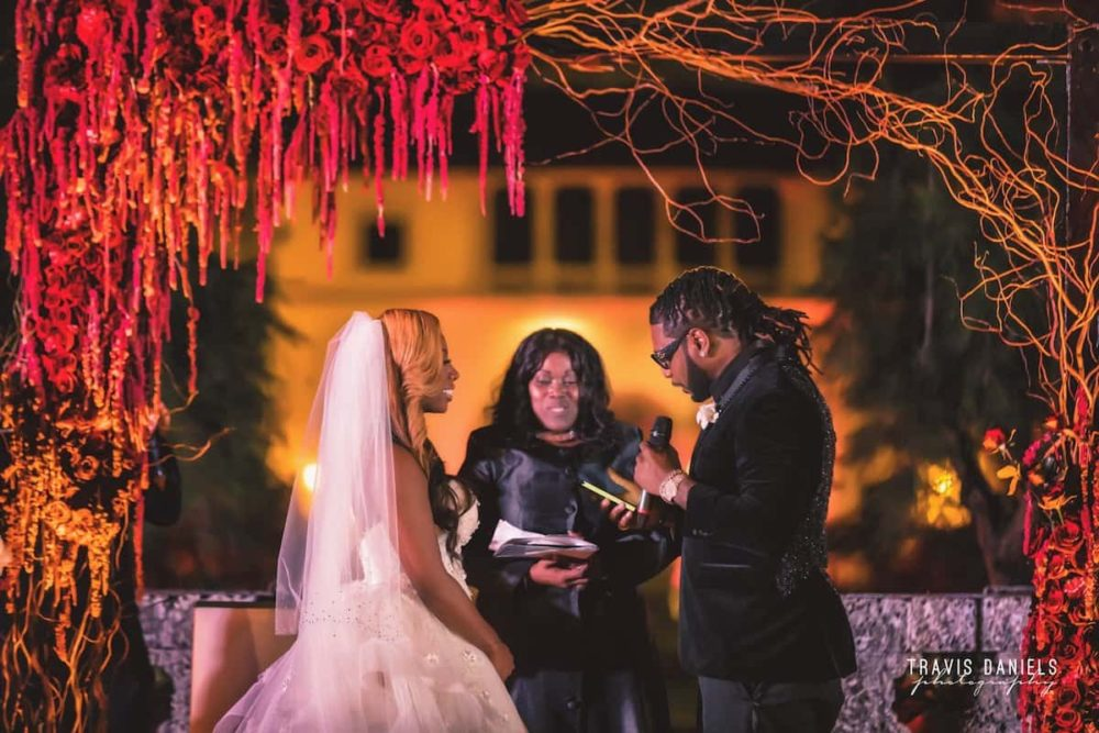 Vizcaya celebrity wedding ceremony