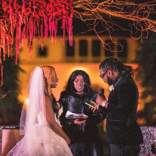 Vizcaya celebrity wedding ceremony