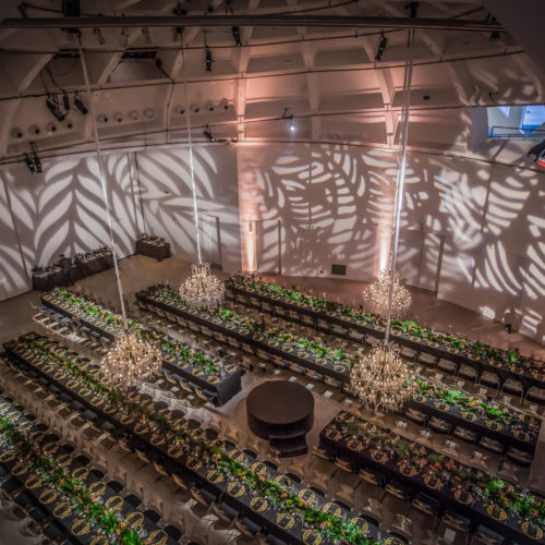 Faena Forum Miami Beach gala event production corporate event chandeliers