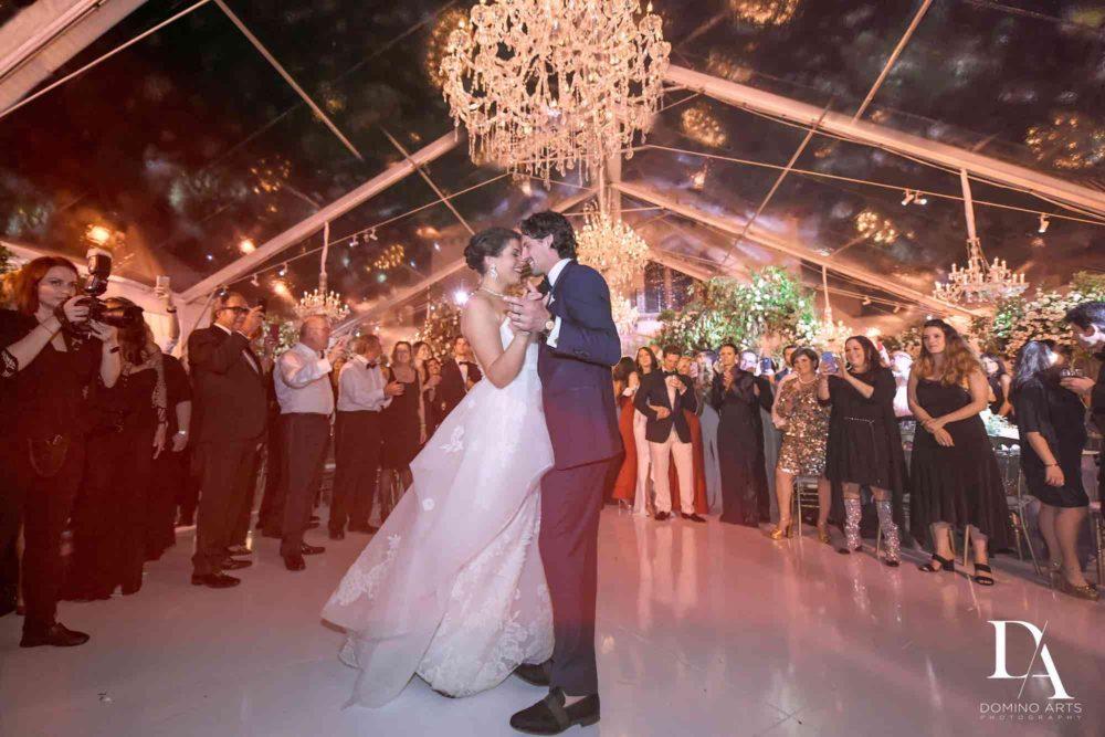 Fisher Island Miami wedding lighting and production South Florida