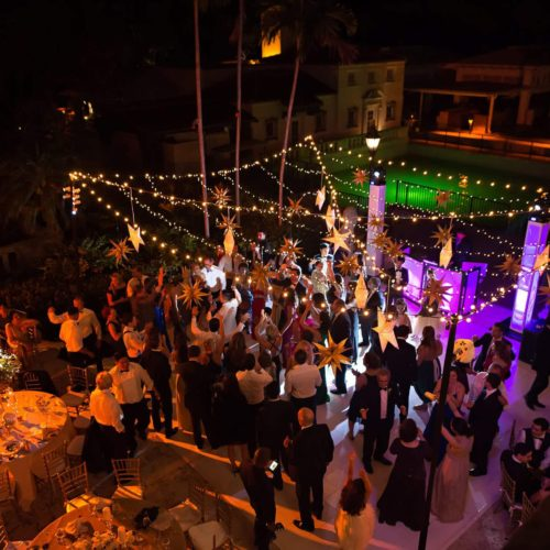 Fisher Island twinkle lights mini lights wedding lighting intelligent lights