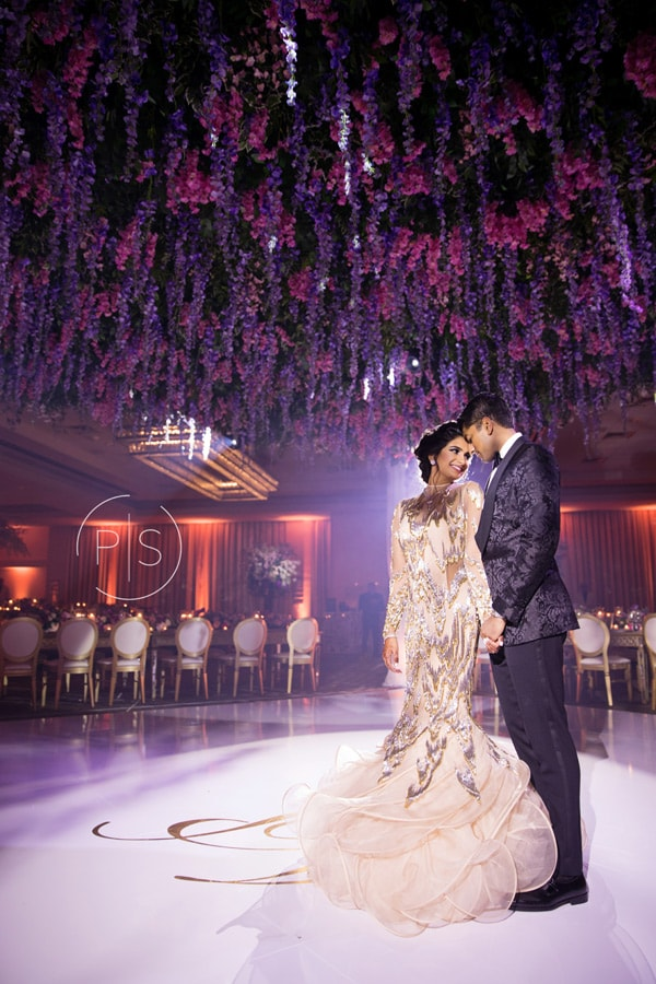 Fontainebleau Miami luxury wedding lighting