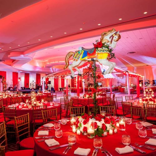 Fontainebleau party gala fundraiser production lighting AV audio visual Miami