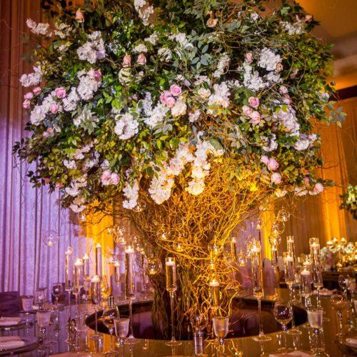 Mandarin Oriental Miami wedding ceremony lighting event production music sound
