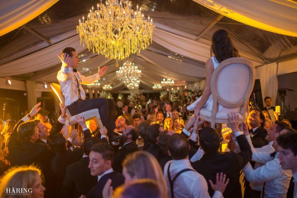 Vizcaya crystal chandeliers luxury wedding Miami