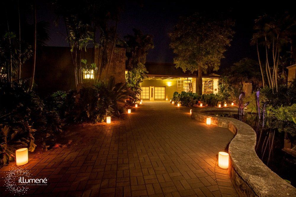 rent candles Fairchild Tropical Botanic Garden Miami