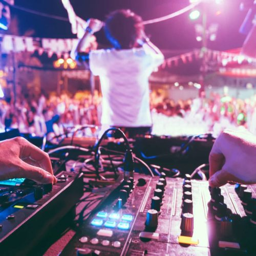Audio visual rental Miami Beach party